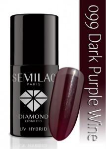 lakier hybrydowy Semilac - purple